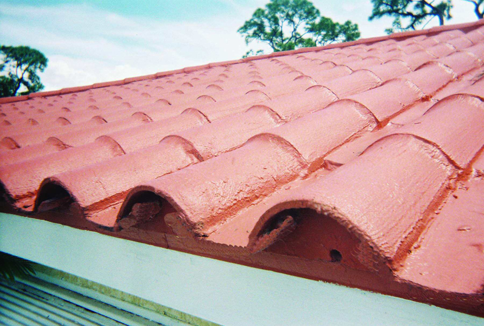 Residential roofing weather for Flat tile roof